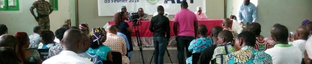 Abdoulaye Bio Tchané expose son projet de société aux syndicalistes